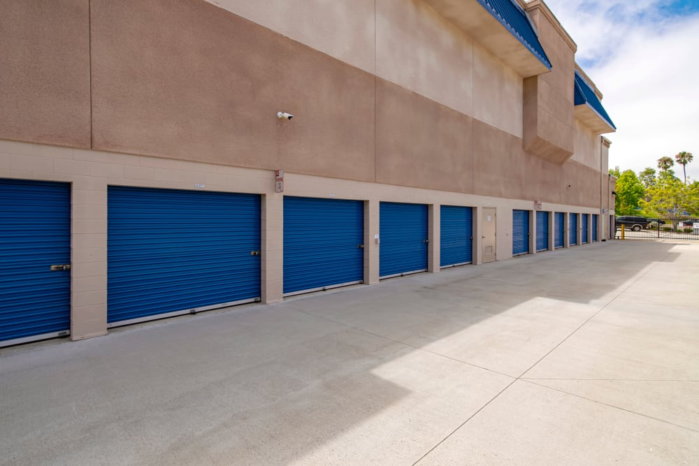 Exterior units at Smart Self Storage of Solana Beach