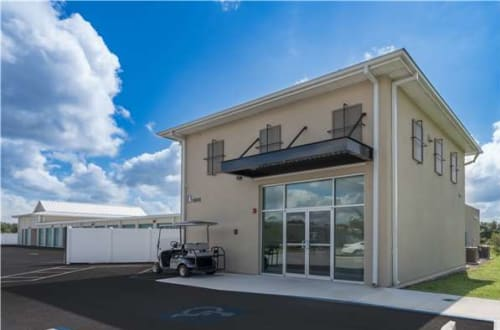 Exterior of our front office at Midgard Self Storage in Murrells Inlet, South Carolina