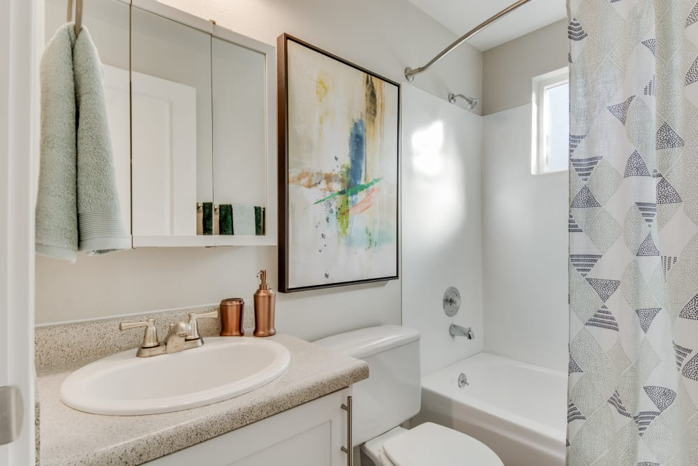 Bathroom at Apartments in Everett, Washington