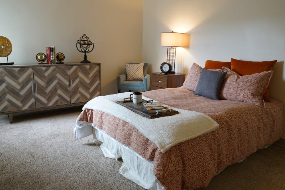 Bedroom at Harmony at Morgantown in Morgantown, West Virginia