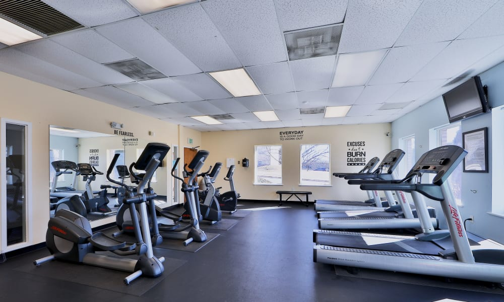 Cardio Space at Morningside Apartments & Townhomes in Owings Mills, Maryland