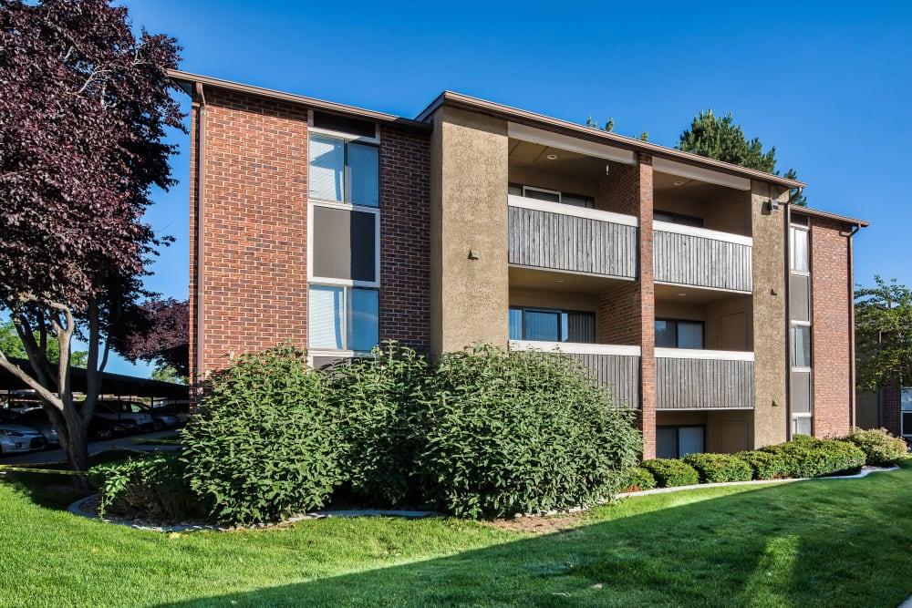 Exterior of Cherry Creek Apartments in Riverdale, Utah