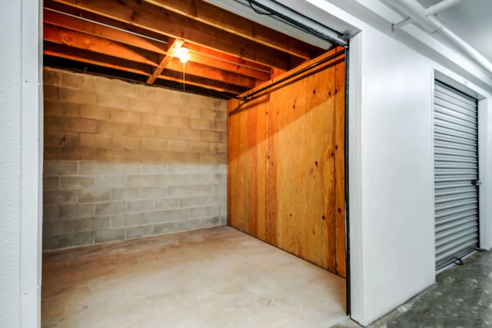 Most interior units have lights at Encinitas Self Storage