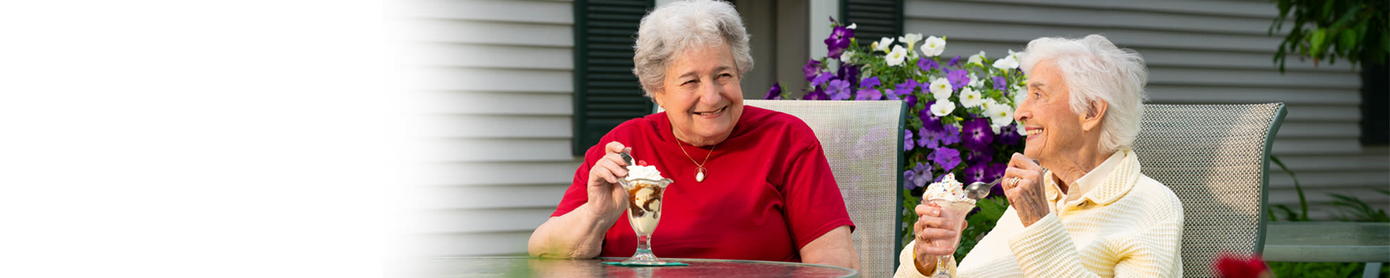 Senior living options at Woodstock Terrace in Woodstock, Vermont