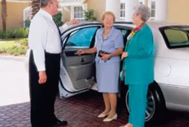 Senior living transportation in The Villages features chauffeured transportation