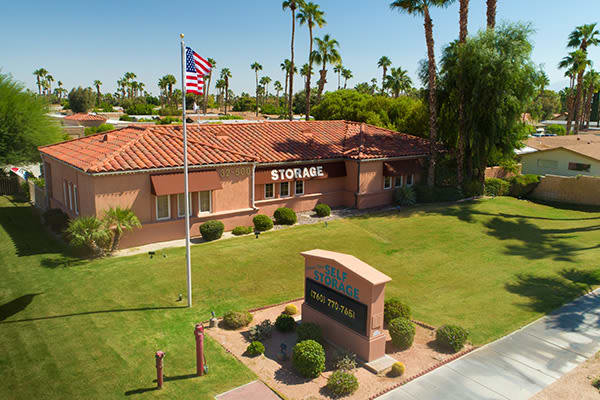 View our building in Cathedral City, California