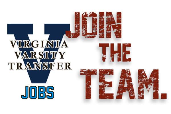 Virgina Varsity join our team logo for  Virginia Varsity Transfer & Storage