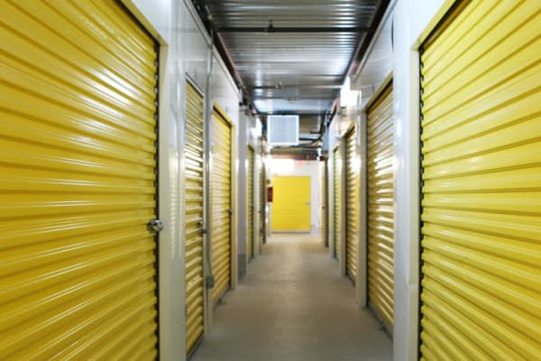 Interior units at Midgard Self Storage in Naples, Florida