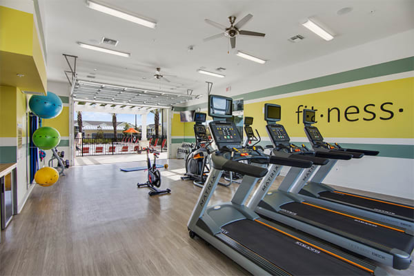 fitness center at Springs at Tapestry in Kissimmee