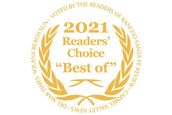 2020 Readers' Choice award logo