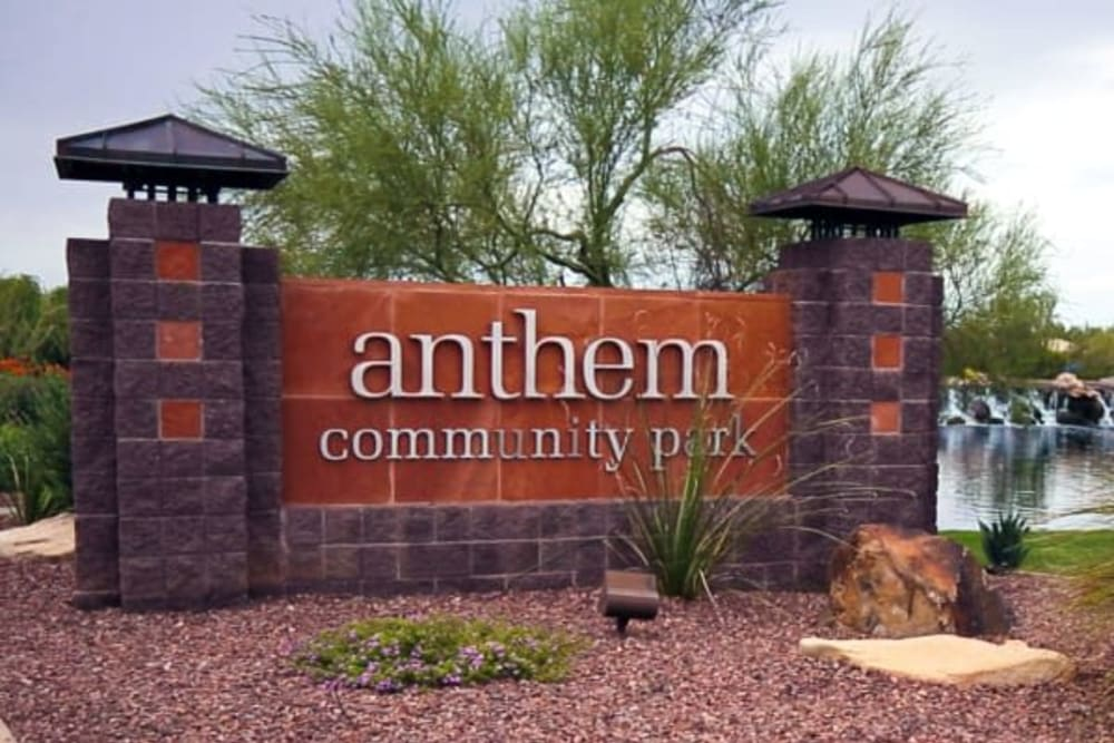Anthem park near Merrill Gardens at Anthem is in Anthem, Arizona.
