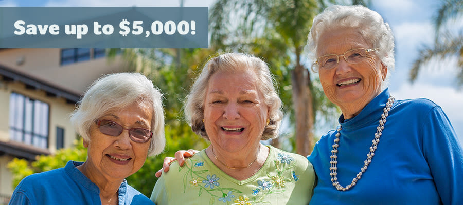 Save up to $5,000 at The Oaks this March!