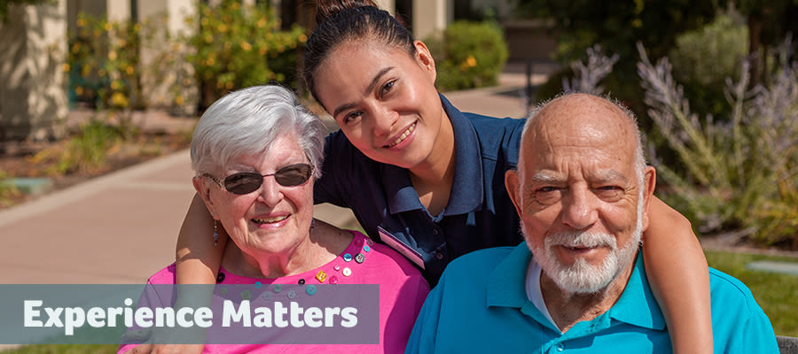 Experience Matters at Merrill Gardens at Gilroy
