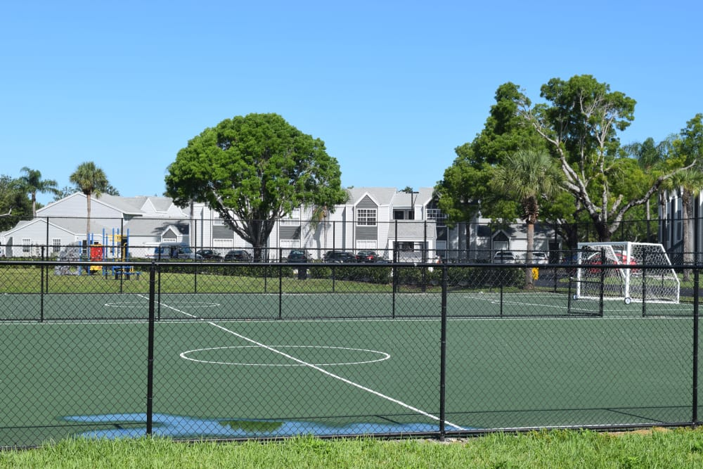 Clubhouse at apartments in Naples FL