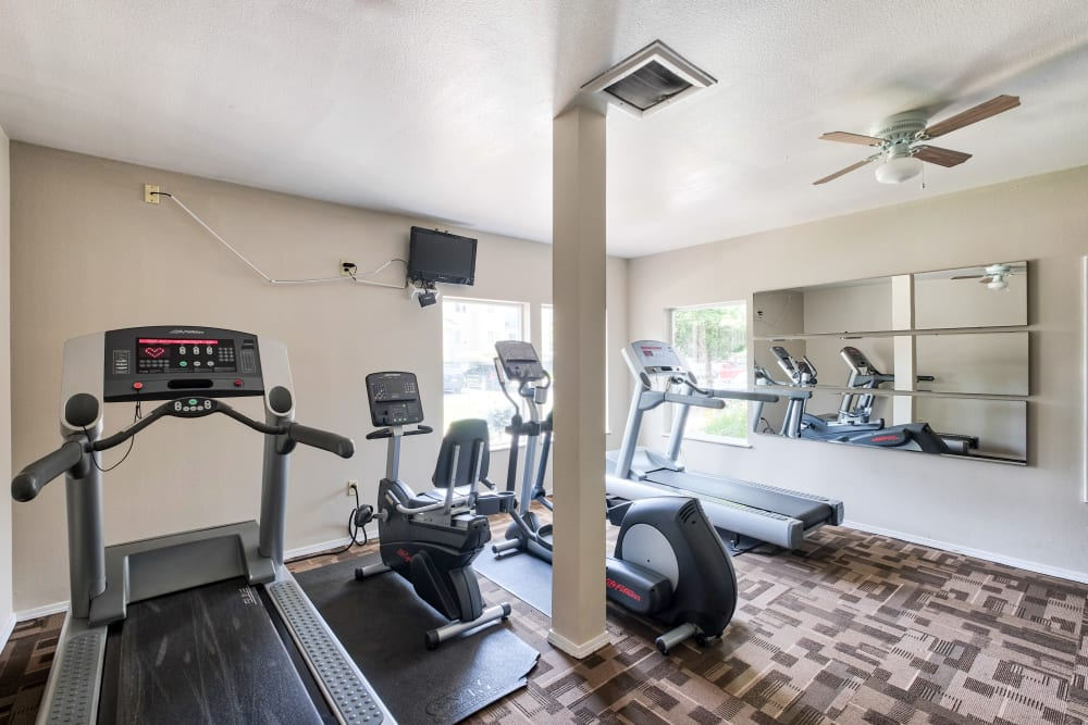 Gym at Arbor Crossing Apartments in Boise, ID