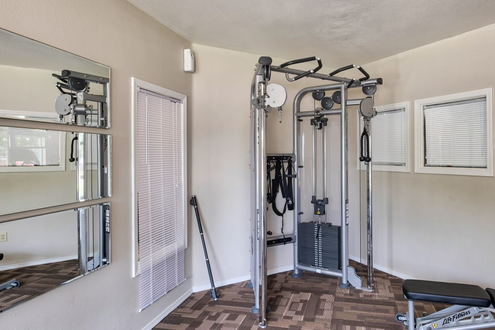 Arbor Crossing Apartments offers a gym in Boise, ID