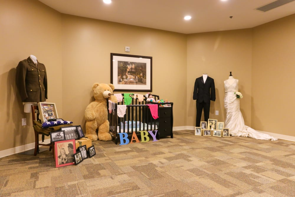 A memory center at The Harmony Collection at Roanoke - Memory Care in Roanoke, Virginia