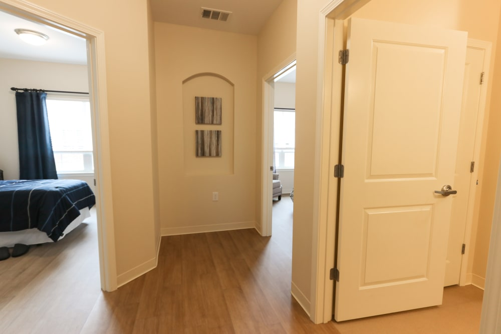 A view of a shared foyer at The Harmony Collection at Roanoke - Memory Care in Roanoke, Virginia