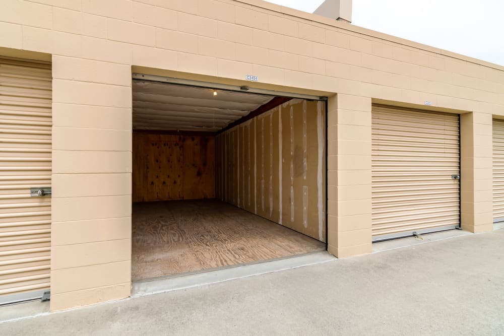 Drive-up unit at North County Self Storage