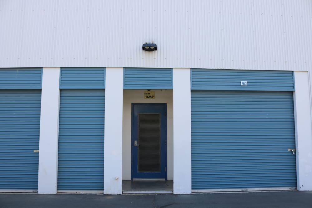 Convenient drive-up storage at Golden State Storage - Tropicana in Las Vegas, Nevada