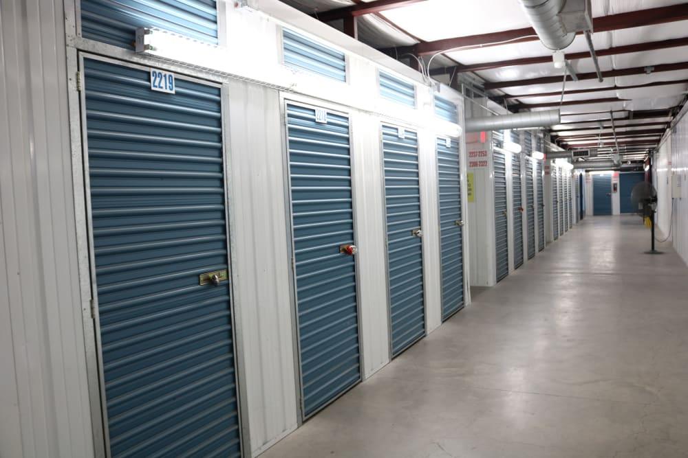 Interior units at Golden State Storage - Tropicana in Las Vegas, Nevada