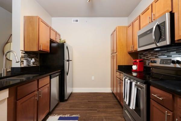 Kitchen at Parallax @ Georgetown in Georgetown, Texas