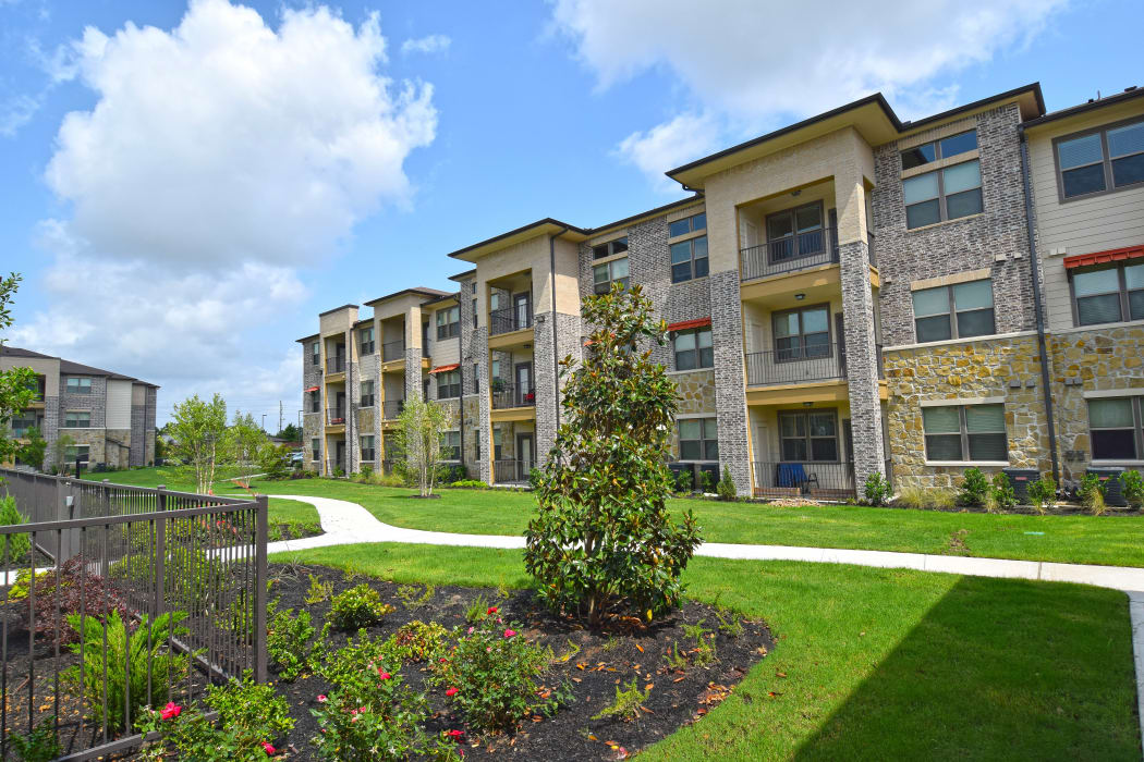 Grassy area at Radius at Shadow Creek Ranch in Pearland