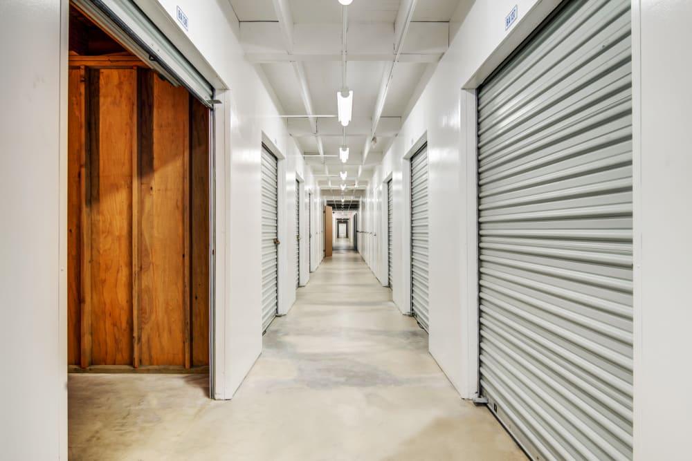 Clean interior units at Mira Mesa Self Storage
