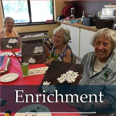 Independent Living Enrichment at Heatherwood Senior Living