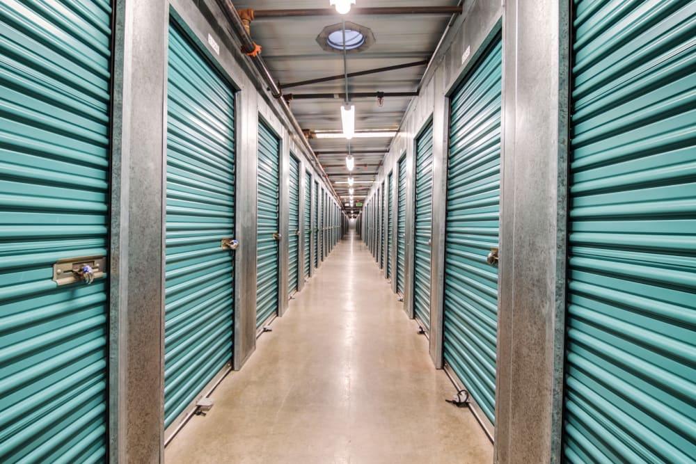 Interior units at Olivenhain Self Storage
