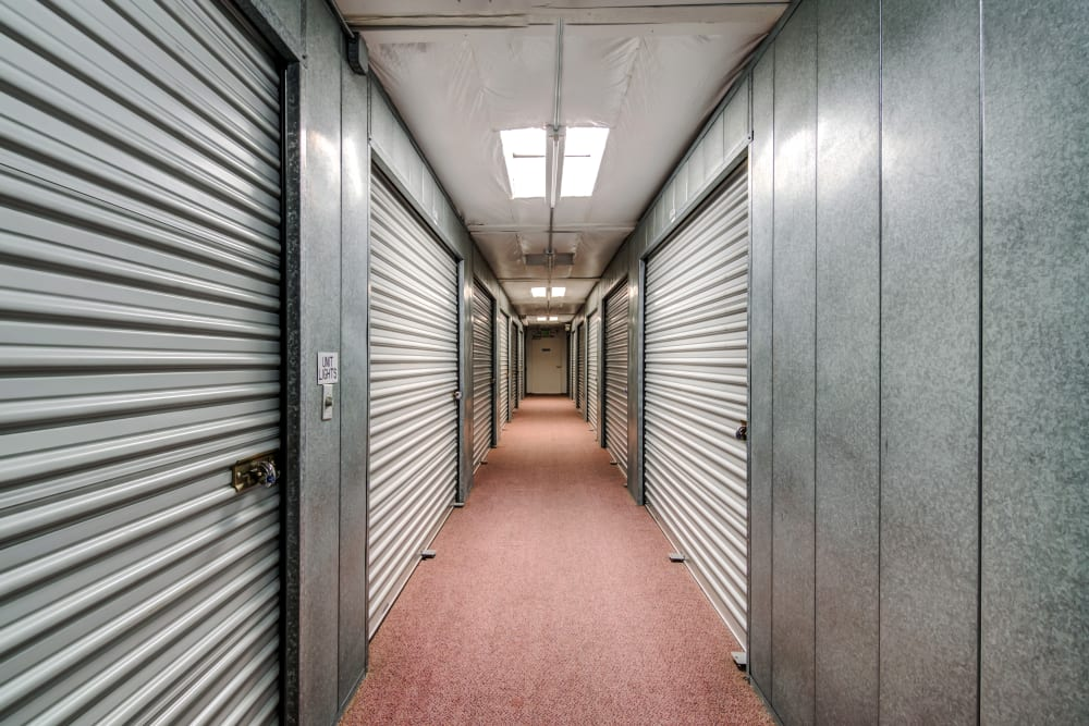 Variety of unit sizes at North County Self Storage