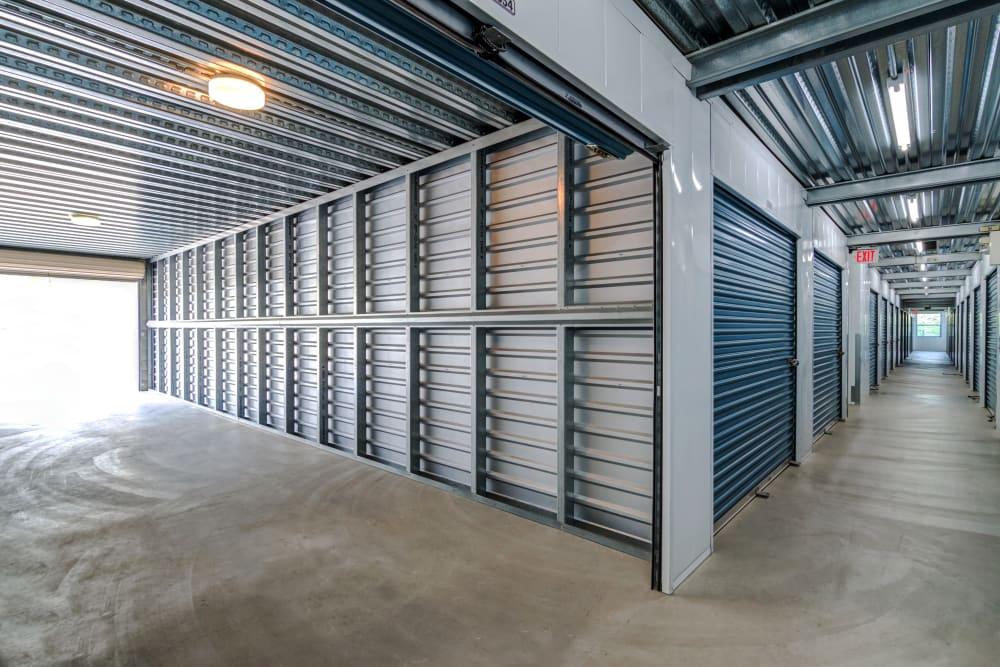 Clean storage units at Golden Triangle Self Storage