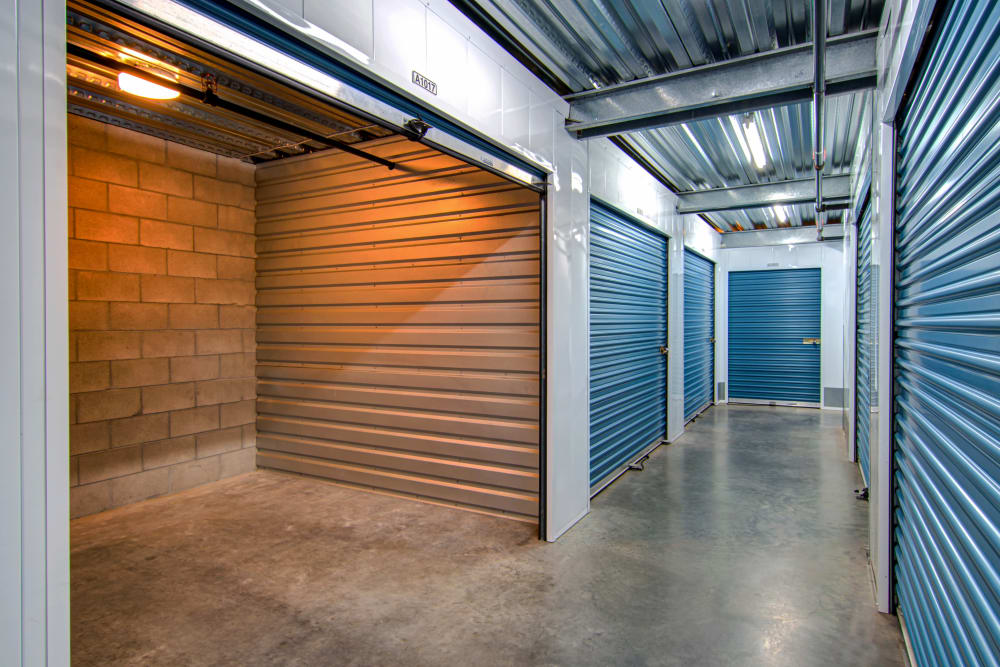 Smart Self Storage of Solana Beach offers a variety of interior units