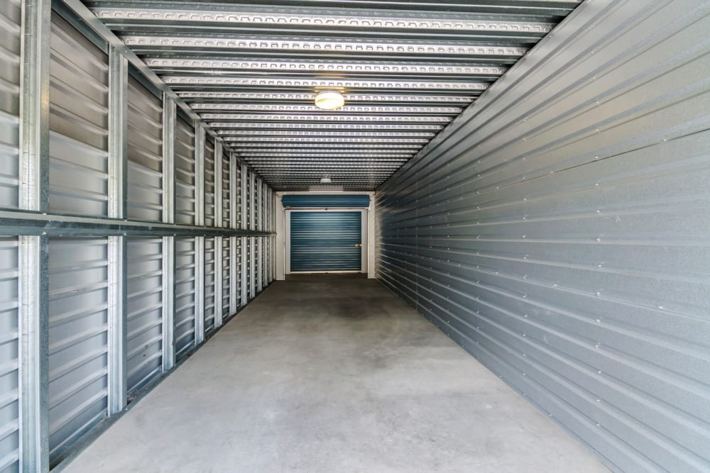 Two sided entrance unit at Golden Triangle Self Storage