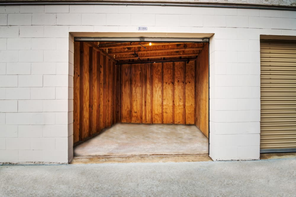 Large drive-up units offered at Poway Road Mini Storage