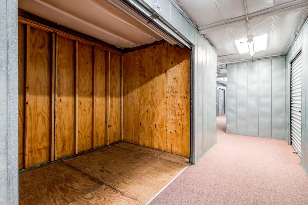 Clean interior units at North County Self Storage