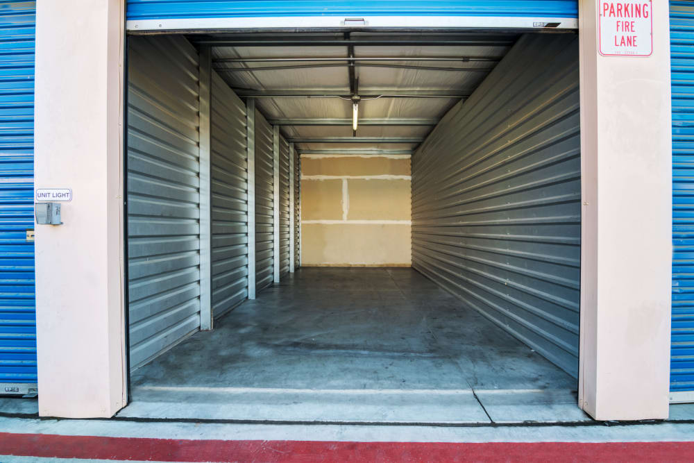 Large drive-up units at Otay Crossing Self Storage