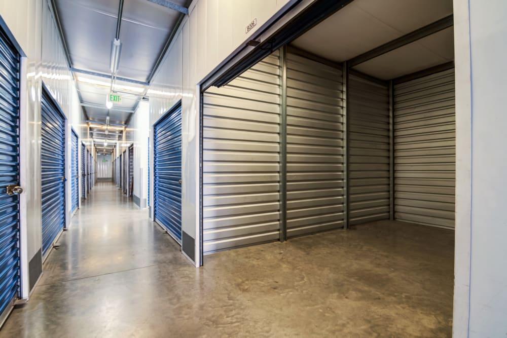 Clean interior hallways at Otay Crossing Self Storage