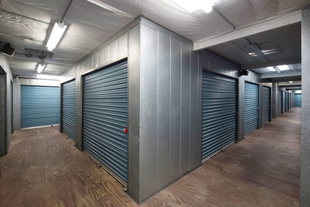 Interior units at Otay Mesa Self Storage in San Diego, CA