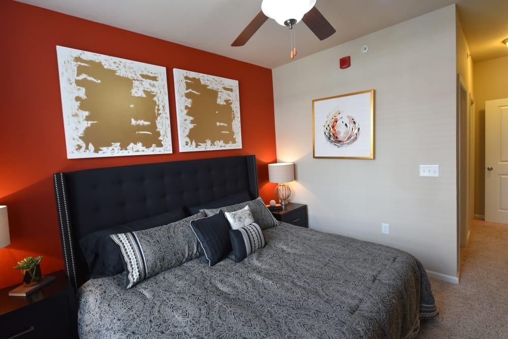 Spacious bedroom at Springs at Liberty Township Apartments in Liberty Township