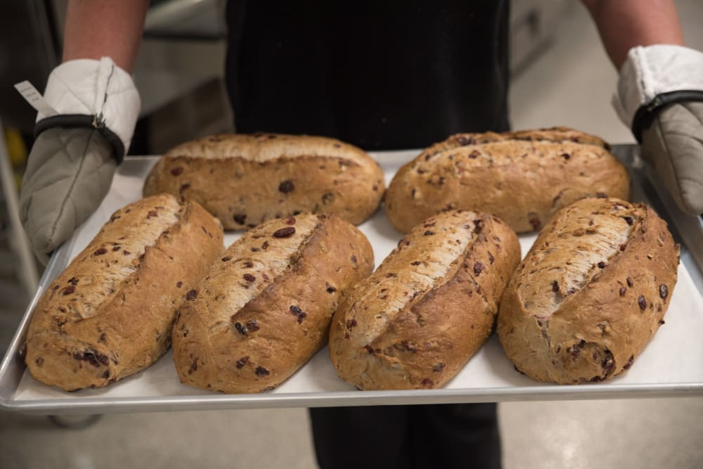Freshly Baked Bread at Sanders Ridge Health Campus