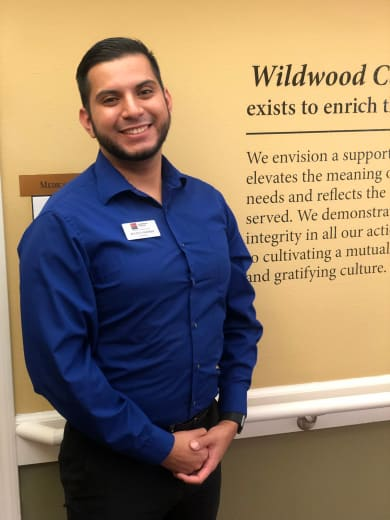 Julius Osorio of Wildwood Canyon Villa Assisted Living and Memory Care in Yucaipa, California