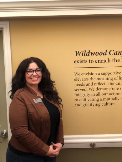 Angelina Chasman of Wildwood Canyon Villa Assisted Living and Memory Care in Yucaipa, California