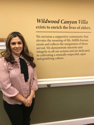 Wendy Barrera of Wildwood Canyon Villa Assisted Living and Memory Care in Yucaipa, California