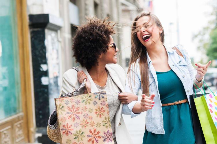 Friends shopping near 1801 MetroWest in Orlando, Florida