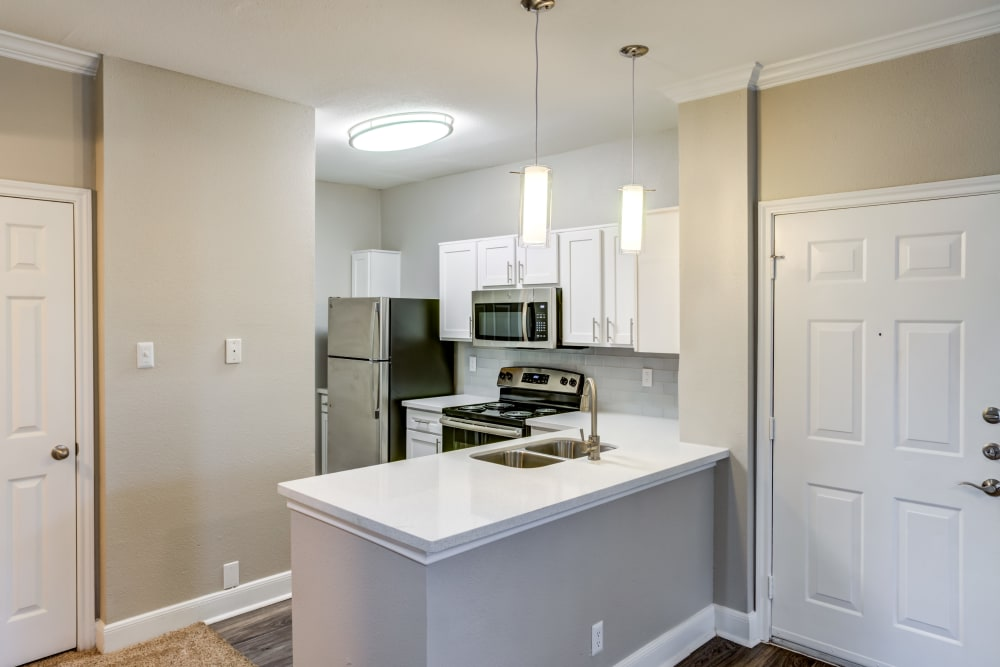 Kitchen at Signature Point Apartments