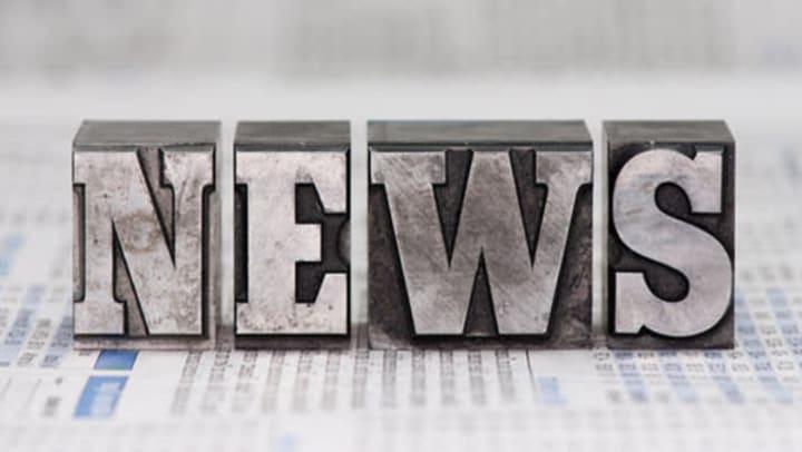 """Blocks of letters spelling """"NEWS"""""""
