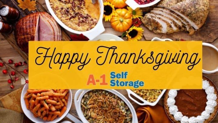 Thanksgiving Self-Storage Schedule