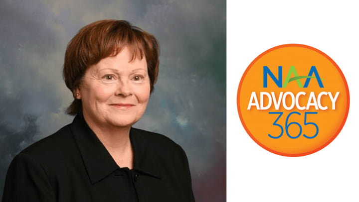 Bonnie Smetzer of JMG Realty, Inc. receives Advocate of the Year from NAA