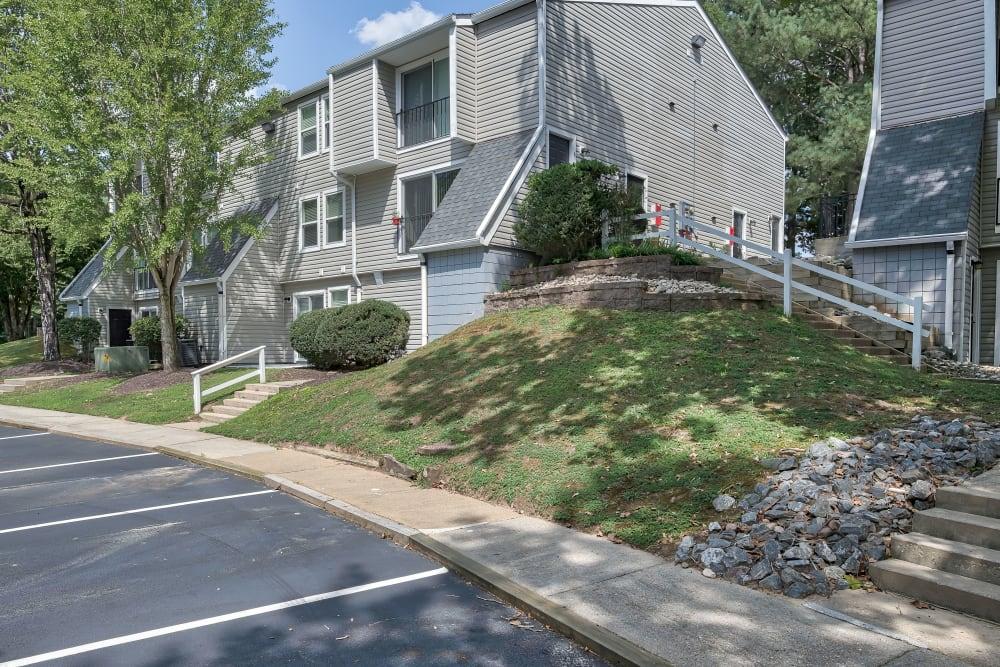 Exterior at Woods of Williamsburg Apartments in Williamsburg, Virginia